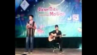 Tiết mục Guitar Ly cà phê ban mê dự thi Cánh diều mơ ước-Thanh Phong