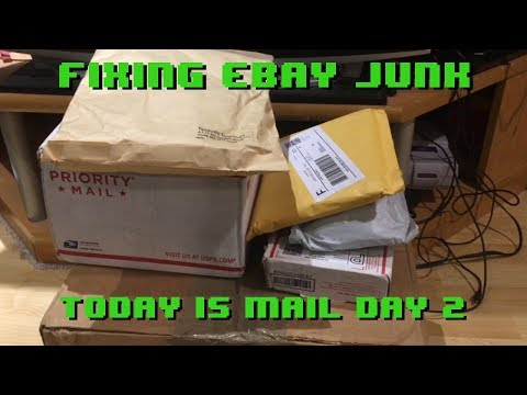 Fixing eBay Junk - It's Mail Day 2