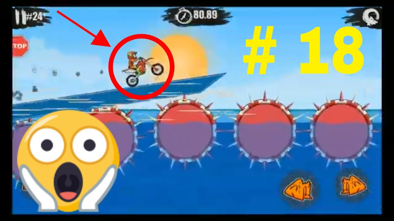 #MotorbikeGameAndroid  #MotoX3M  - Bike Racing Games   Episode #18   #Gameplay   Bike Free 2021