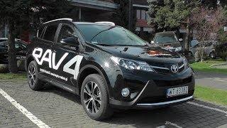 toyota rav4 2014 jazda testowa silnik wnętrze i wyposażenie