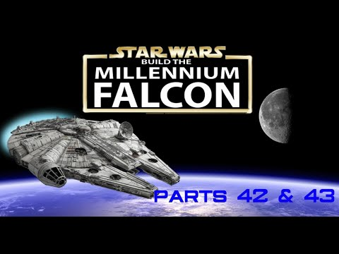 Build the Millennium Falcon Parts 42 & 43: Stamps, Moustaches and a full bottom!