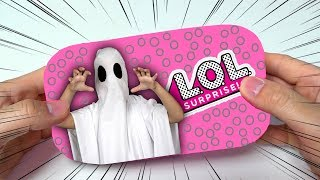 LOL GHOST halloween surprise opening! Ghost is back!