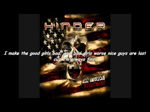 Hinder All American Nightmare Lyrics