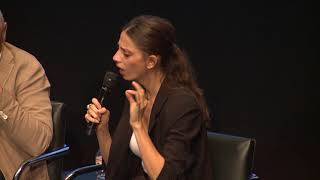 Angela Sarafyan on having a personal revelation about her own history on set