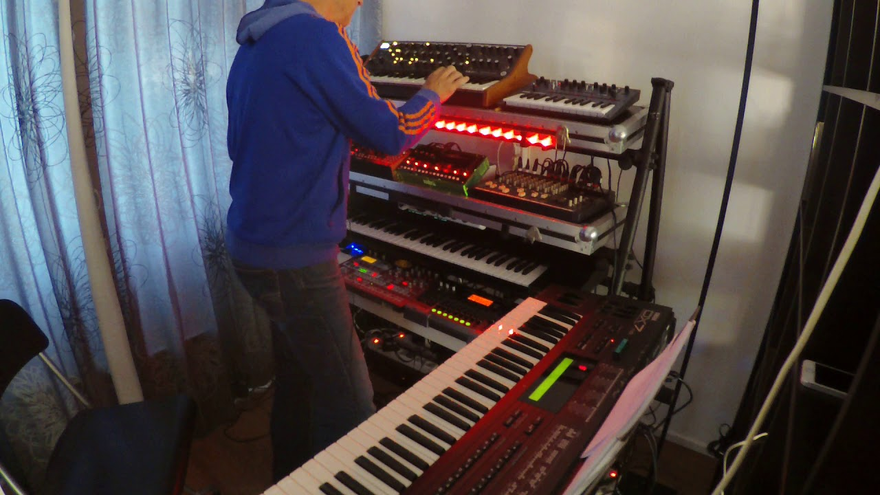 IMPROVISATION with MOOG SUB37 & MOTHER32 & DX7 - YouTube