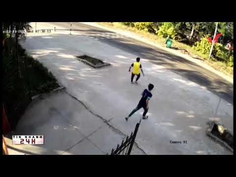 Bình Dương, táo tợn cướp tông thẳng xe vào phó trưởng công an xã Tân Long