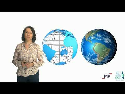 Глобус модель земного шара видеоурок