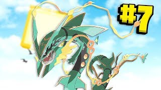 Shiny Mega OP Rayquaza Lvl 100 OMG DPS - Minecraft Pixelmon Island SMP - Pokemon Mod #7 | JeromeASF