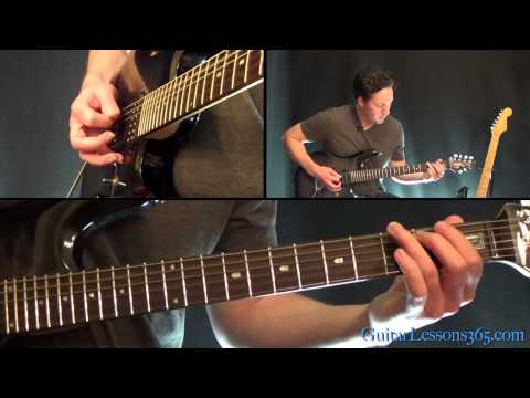 Blackened Guitar Lesson - Metallica - Intro