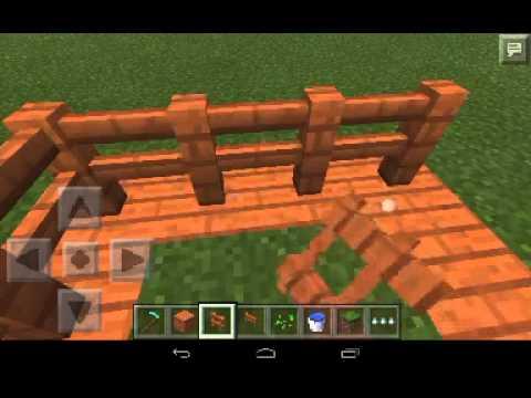 Minecraft pocket edition как посадить семена:-)