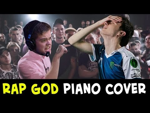 Rap God ODPixel piano cover — feat Miracle Invoker and w33 Timber