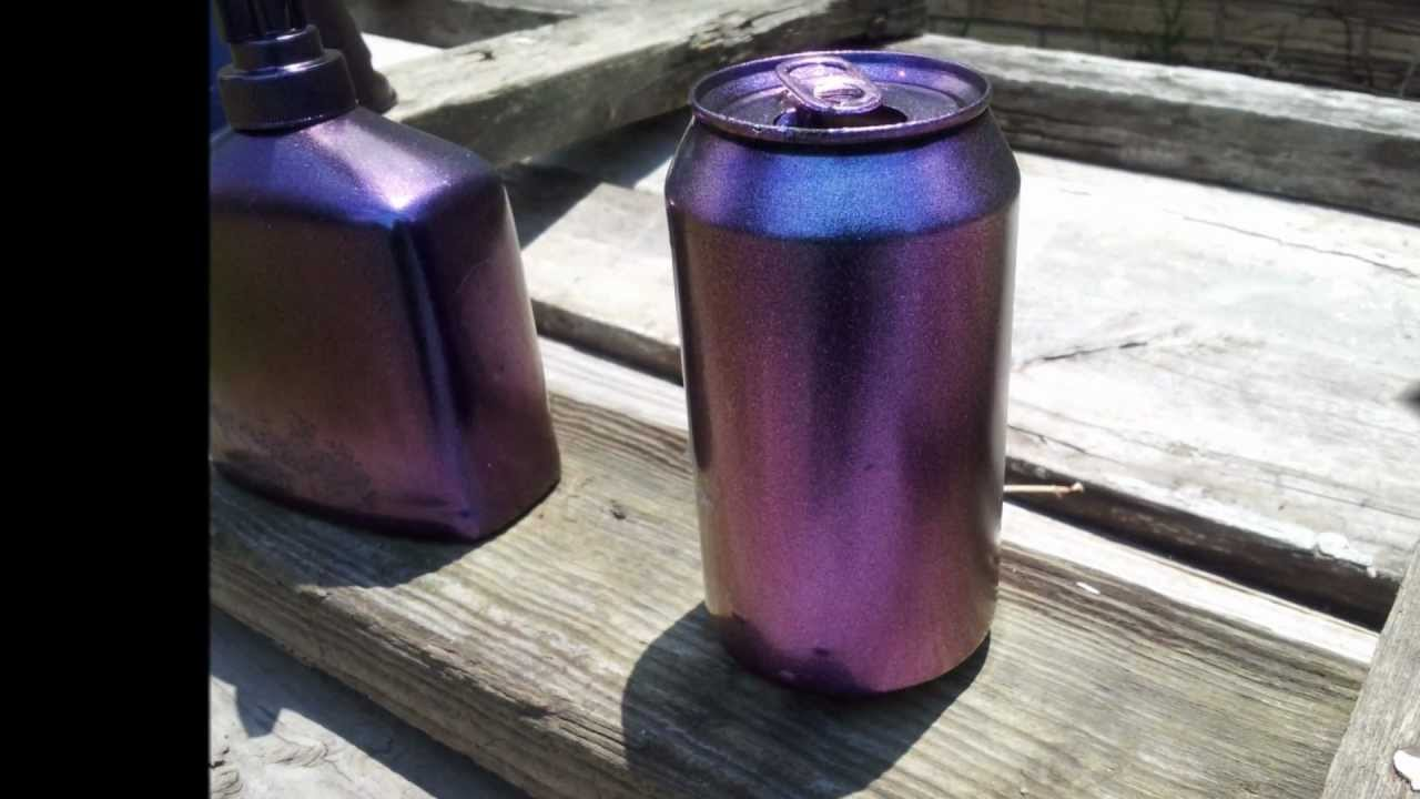 Spray Chrome Paint Burgundy