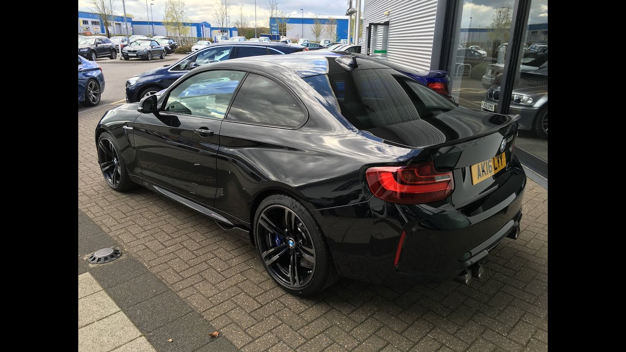 bmw m2 with m performance exhaust youtube. Black Bedroom Furniture Sets. Home Design Ideas