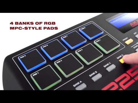 The All-New Akai Professional MPK225 Keyboard & Pad Controller