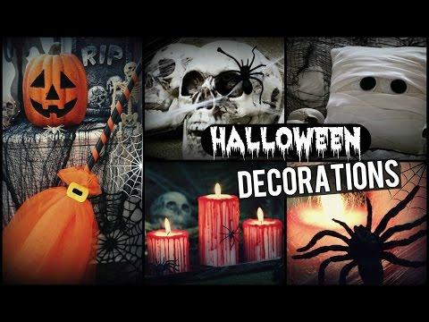 DIY Halloween Decoration Ideas!   How To Make Halloween Room Decor For Fall!