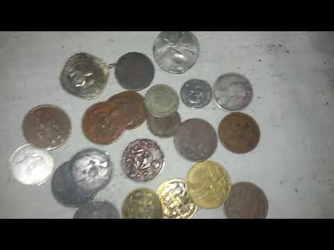 Mostly popular antique coin East India company and   mugal  coin  and  sultnat