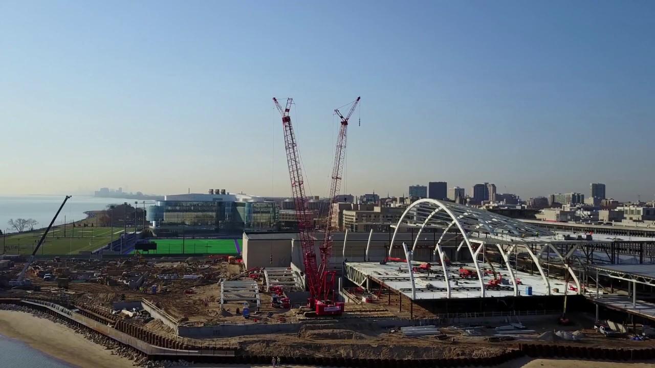 Northwestern University Ryan Field House & Walter Athletics Center Project Update.