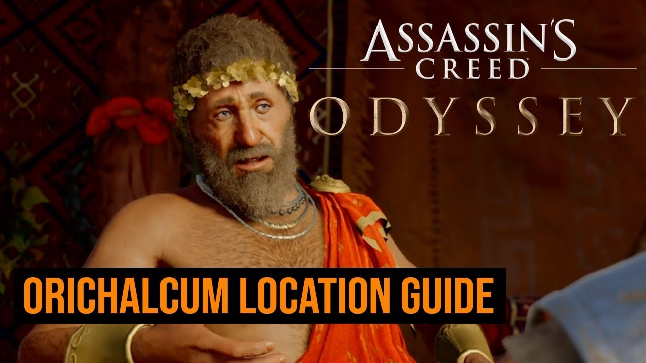 Where to find Orichalcum in Assassin's Creed Odyssey