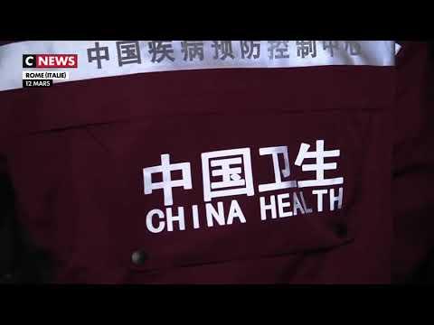 """Résultat de recherche d'images pour """"la chine envoie des médecins et du matériel en italie"""""""