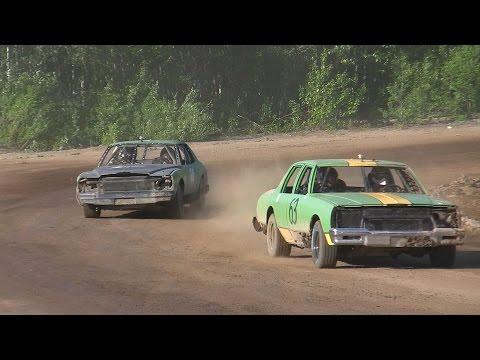 Capitol Speedway Alaska 6-13-15 Heat #2 Hobby Stocks
