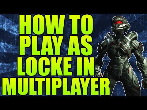 Halo 5: Guardians - HOW TO PLAY AS SPARTAN LOCKE IN ...