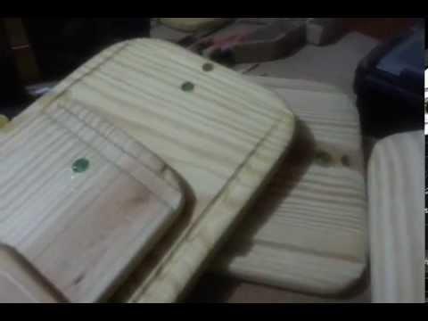 Como hacer tablas personalizadas para picar carne youtube - Como hacer una tabla para picar de madera ...