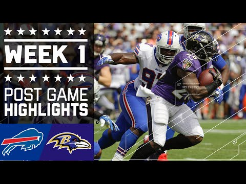 Bills vs. Ravens | NFL Week 1 Game Highlights