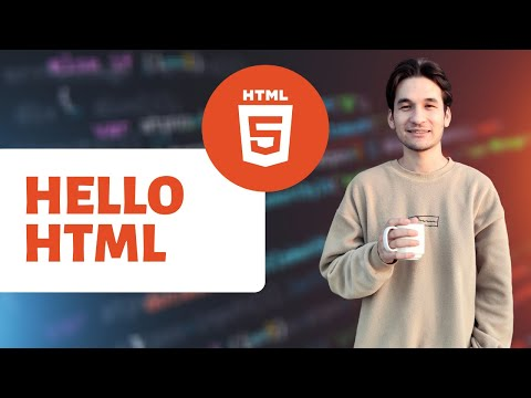 Hello HTML | First HTML Code | Text Editors | HTML5 Structure