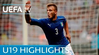 Under-19 highlights: Germany 0-1 Italy