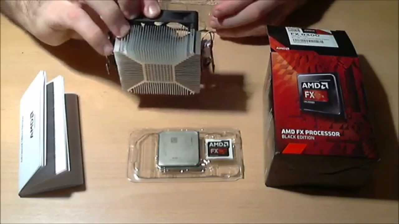 Amd Fx 8300 Be Am3 8 Core Cpu Unboxing Amp Overview Youtube
