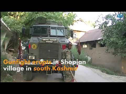 Gunfight erupts in Shopian village in south Kashmir