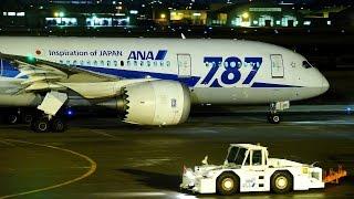 """静かなロールスロイス """"787 Engine Trent 1000"""" ANA (All Nippon Airways) Boeing 787-8 Dreamliner JA811A"""