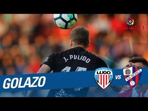 Golazo de Pulido (0-2) CD Lugo vs SD Huesca