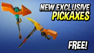 HOW TO GET NEW FORTNITE CHINA PICKAXES!? Power Pickaxe & Pointer Pickaxe!