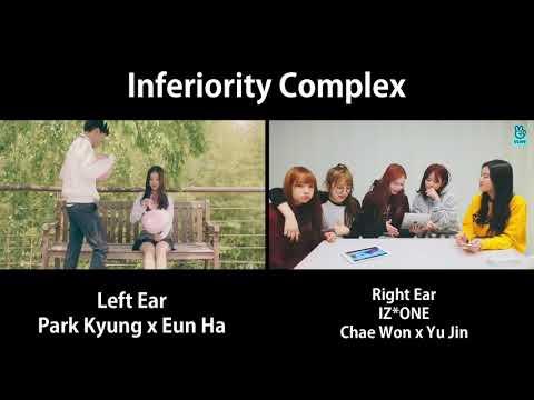 Inferiority Complex Comparison | Park Kyung x Eunha / Chaewon x Yujin