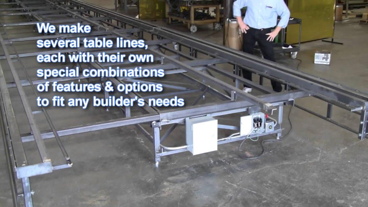 TRIAD Diamond Quad Framing Table: SNEAK PEEK