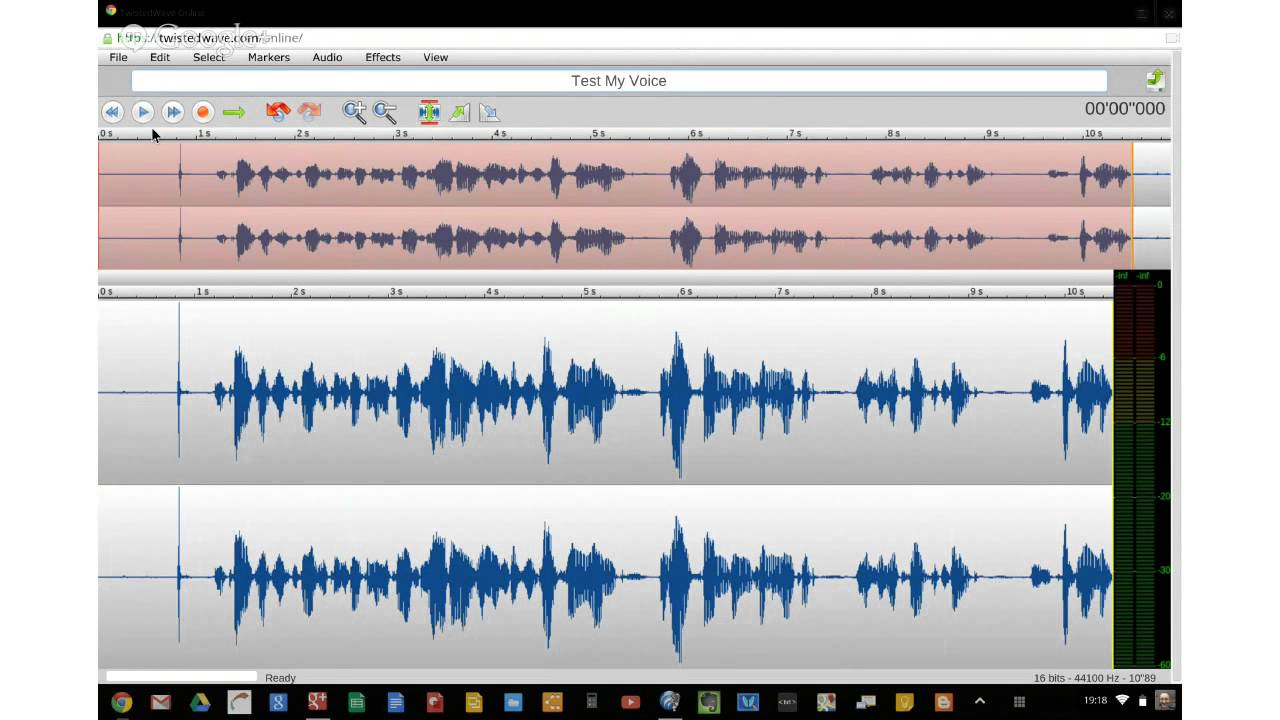 Record Audio on a Chromebook