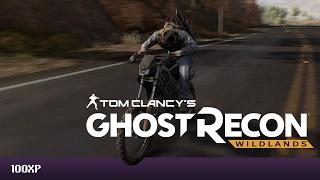 Motorbike Racing across the Ghost Recon Wildlands Beta