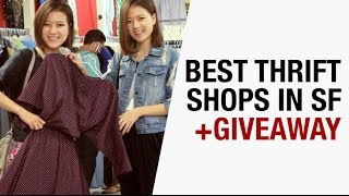 Best San Francisco Thrift and Vintage Stores + Giveaway
