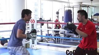 【本気でボクシングに挑戦!】元巨人・鈴木尚広、チャンピオン井上尚弥が所属する大橋ボクシングジムを訪れ、挑戦!