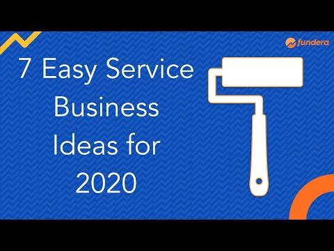 7 Easy Service Business Ideas for 2020