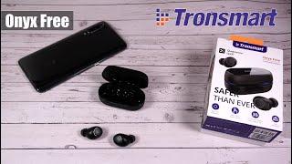 Tronsmart Onyx Free - наушники с ультрафиолетом