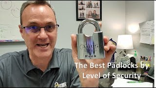 The 4 Best Padlocks by Level of Security - Locksmith Recommended