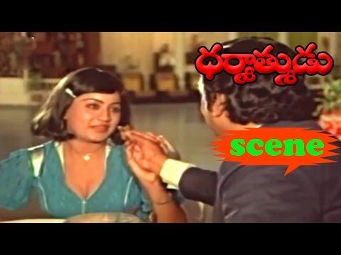 KRISHNAM RAJU VIJAYSHANTHI NICE SCENE| DHARMATHMUDU | KRISHNAM RAJU | JAYASUDHA | V9 VIDEOS