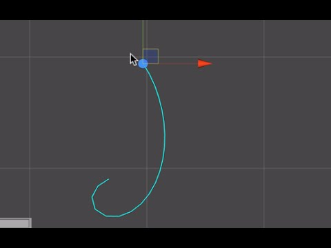 Simple Rope Made in Unity3d | Inverse Kinematics