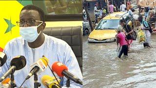 """Inondations au sénégal :"""" Ce qui me gène, c'est cette récupération politicienne...""""(Amadou Ba)"""
