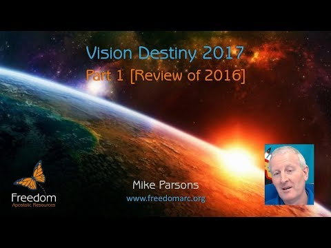 Vision Destiny 2017 (part 1)