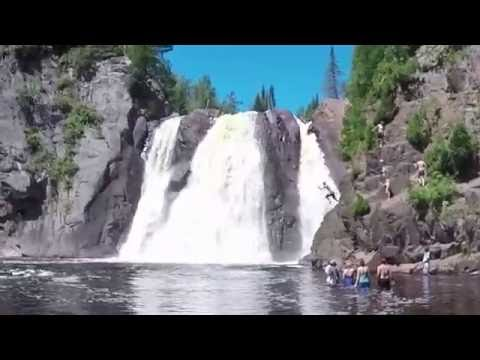 Lake Superior North Shore 60 Second Waterfall Tour