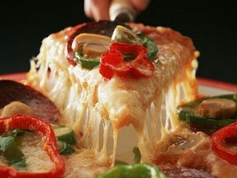 صورة  طريقة عمل البيتزا طريقة عمل البيتزا هت How to Make Pizza Hut طريقة عمل البيتزا من يوتيوب