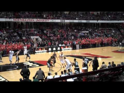 Michigan State vs. Northeastern - 1st half 12.19.15 - Matthews Arena, Boston